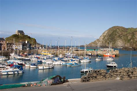 Nicholas Lee by Ilfracombe Harbour And Hillsborough Devon Guide
