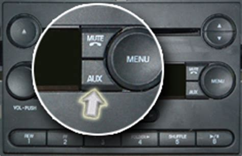 ford freestyle 2005 aux input 2006 ford freestyle aux input location
