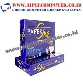 Hvs F4 80gr kertas hvs paper one f4 80gr aipel computer