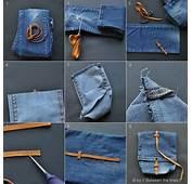 Tutorial Cara Membuat Tas Dari Baju &amp Celana Bekas