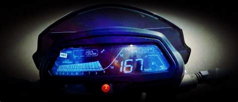 speedometer top speed bajaj dominar top speed speedometer carblogindia