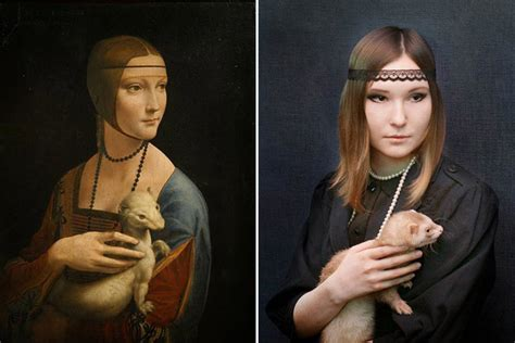 imagenes figurativas realistas famosas 22 famous paintings revisited as photographs