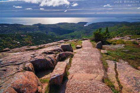 cadillac mountain trail joe s guide to acadia national park cadillac mountain