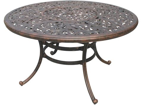 metal patio dining table cast aluminum cast aluminum outdoor dining table