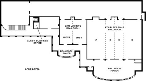 Loading Dock Floor Plan by Austin Event Venues Amp Meeting Space Four Seasons Hotel Austin