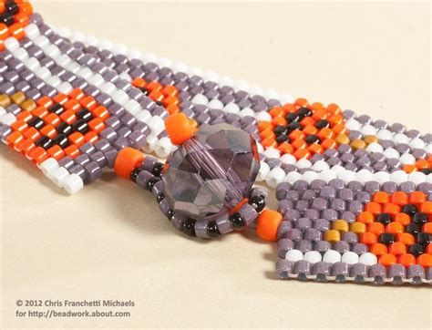 bead looper easy bead and loop clasp for a peyote stitch bracelet