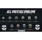 Cod Ghosts Prestige Emblems Car Tuning