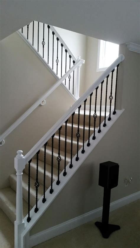 painted banister ideas 1000 ideas about painted banister on pinterest