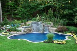Backyard Pools Landscaping Ideas Backyard Pools Photos This Backyard Pool Looks Like A Tro
