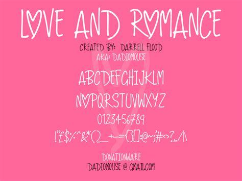 dafont romantic love and romance dafont com