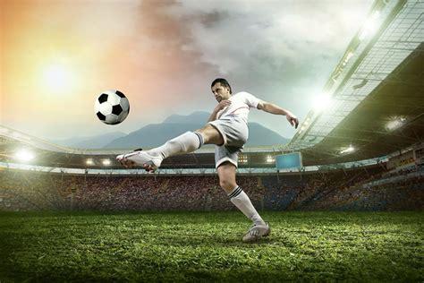 Stiker Soccer football striker wall mural photo wallpaper sport wall murals