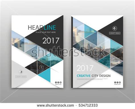 layout of a cover abstract binder art white a4 brochure stock vector