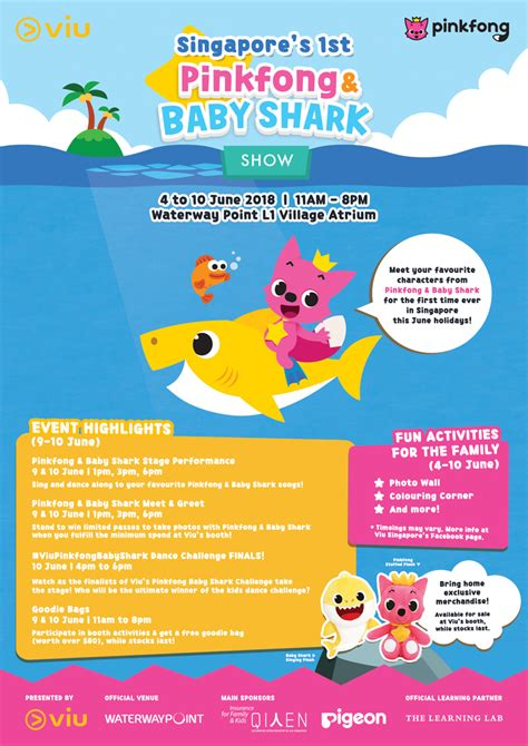 baby shark event june 2018 look out for singapore s 1st pinkfong baby