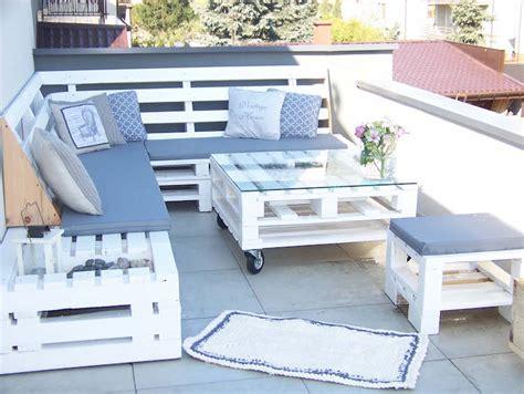 banc pour salon fabriquer salon jardin palette bois idees accueil design