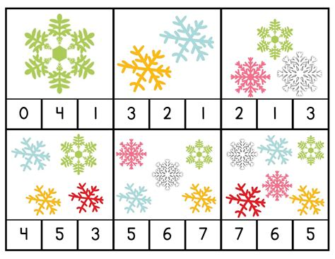 snowflake pattern for preschool snowflake counting activities 171 preschool and homeschool