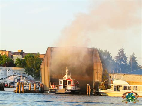 seattle boat house ballard boathouse fire shilshole salmon bay seattle fireboat 1 boat fires ballard