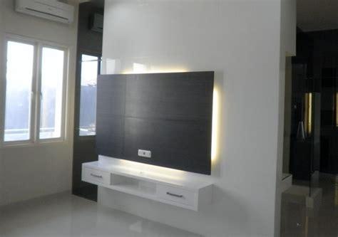 rak tv gantung minimalis furniture rumah