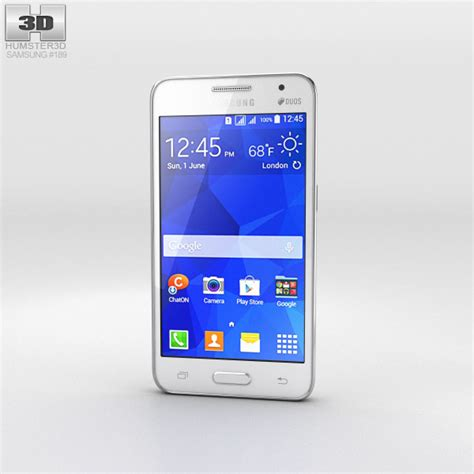samsung galaxy core 2 best themes samsung galaxy core ii white 3d model hum3d