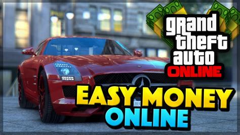 How To Make Money Gta 5 Online - gta 5 online how to make money fast online easy money method gta 5 money youtube