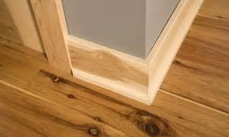 hardwood floor trim modern house