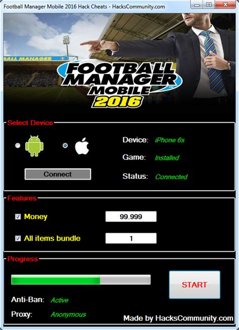 manager mobile football manager mobile 2016 hack cheats hackscommunity
