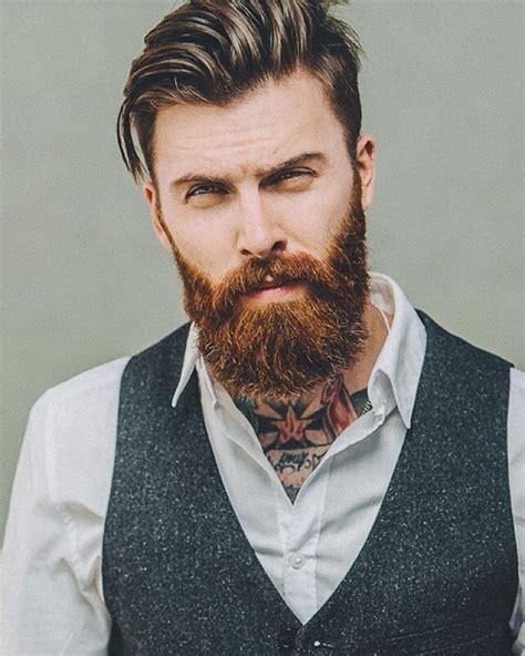 Bearded Mens Hairstyles by Levi Stocke Thick Beard Mustache Beards