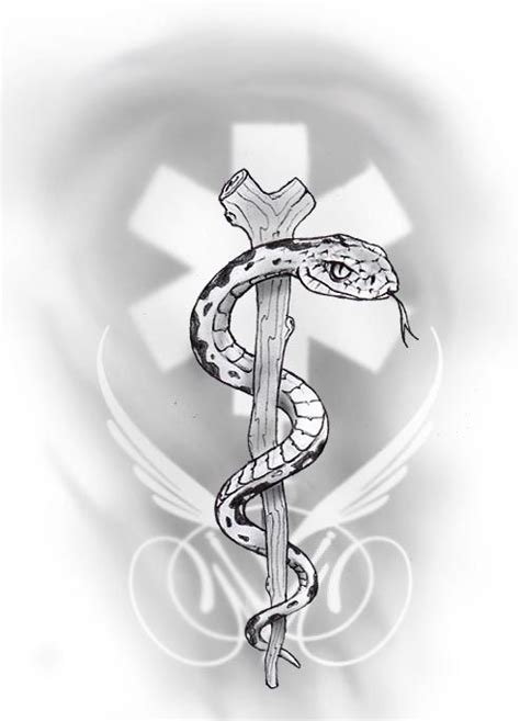 staff of asclepius tattoo designs 17 best ideas about alert on