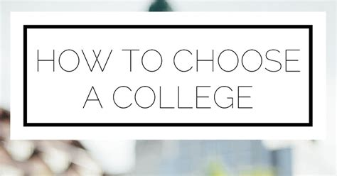 How To Choose A Mba Program by Top 28 How To Select Colleges For How To Choose Which