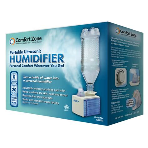 comfort zone portables comfort zone portable ultrasonic humidifier university