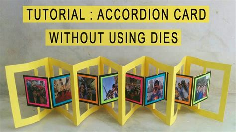 templates for accordian cards whcc accordion card tutorial card for explosion box scrapbooks