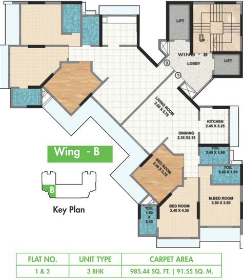 floor plan o2 ahuja o2 in sion mumbai price location map floor plan
