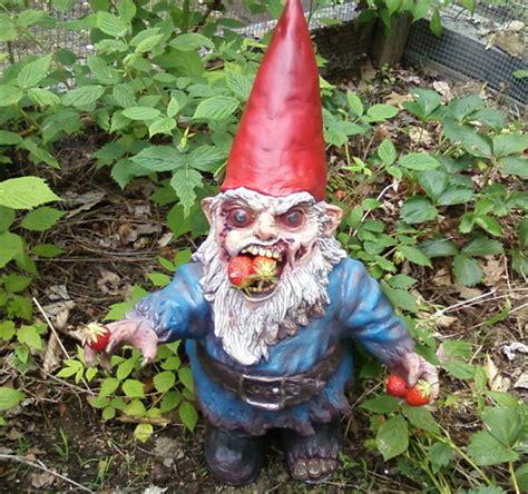 Gnomes Gnombie Zombie Garden Gnome The Green Head