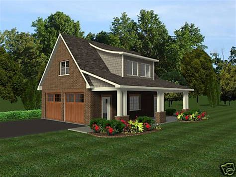 Garage Plans With Porch 2 Car Garage Plans W Office Loft Covered Porch