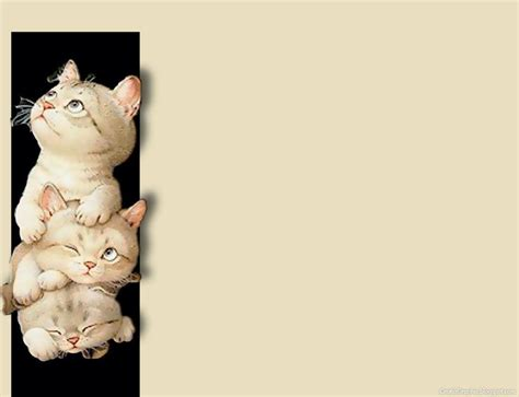 Cute Cat Backgrounds Wallpaper Cave Cat Powerpoint Template