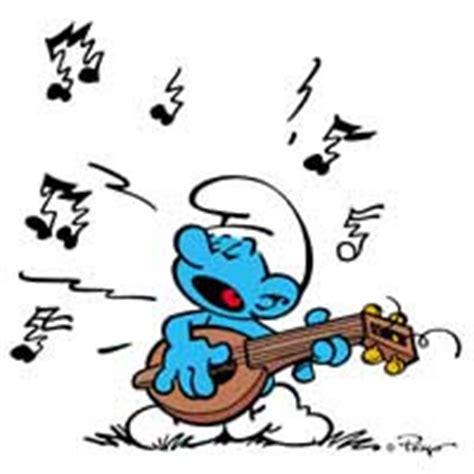 Hbj1694 Harmony Smurf 1 smurfs harmony smurf