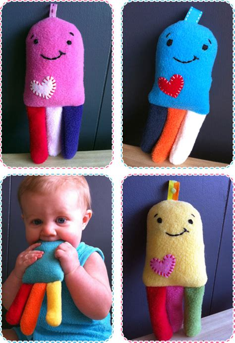 Handmade Baby Toys Patterns - get crafty crunchy jellyfish pattern and tutorial
