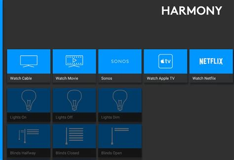 logitech harmony app adds new home automation