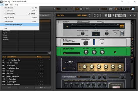 tutorial guitar rig 2 guitar rig 5 tutorial record guitar riffs with virtual