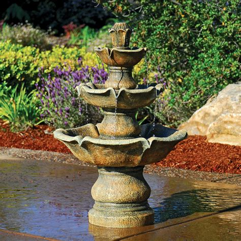 Garden Water Feature Ideas Creative Water Features Your Garden With The Creative Use Of Outdoor Water Fountains Garden
