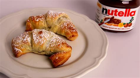 In The Kitchen Recipes by Nutella Croissants Recipe Vitale In The