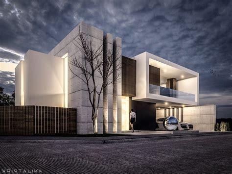 contemporary modern house sierra alta house pinteres
