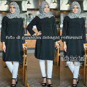 Baju Atasan Tunik Blouse Muslim Wanita Claris Tunic store jilbabstore selamat datang di pusat gro