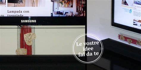 Come Nascondere I Fili Della Tv by Come Nascondere Sulla Parete I Fili Della Tv Cose Di Casa