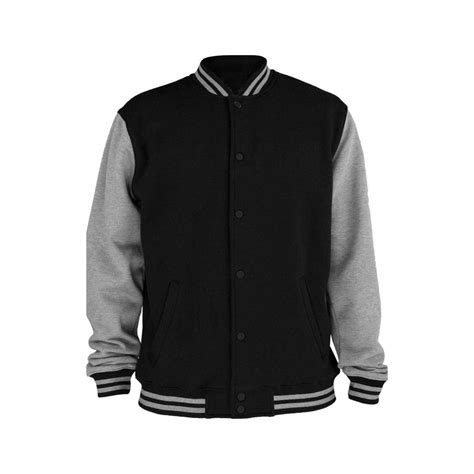 Best Seller Jaket Sweater Baseball Pria Original Hitam Murah U jual jaket sweater baseball varsity basic polos hitam abu best seller id