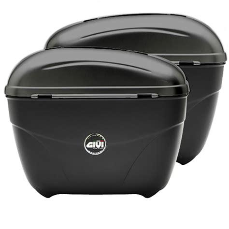 Side Box Givi E21 givi e21 cruiser monokey motorcycle luggage side cases black panniers 21l e21n ebay