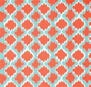Home Decor Fabric By The Yard boho coral home decor fabric by the yard designer by