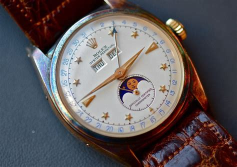 Jam Rolex Moon by Rolex Encyclopedia 187 Rolex Ref 6062 The Moonphase