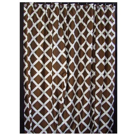 royal court brown shower curtain fashions regal polyester fabric shower curtain with