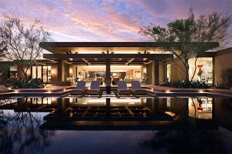 modern desert home design modern desert home contemporary pool orange county