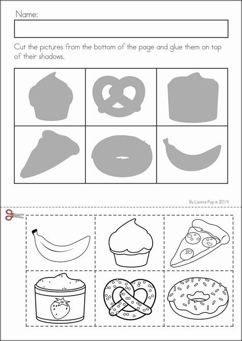 kindergarten activities cut and paste back to school math literacy worksheets and activities